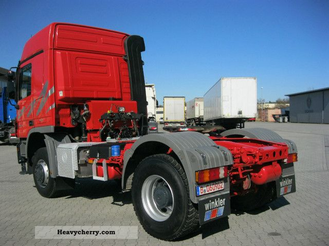 4x4 Truck And Tractors : Mercedes benz actros as l cab standard