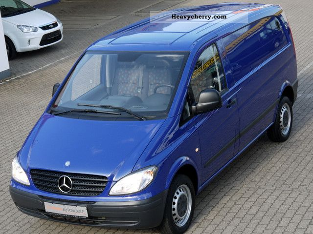 2008 Mercedes-Benz  Vito 111 CDI Compact DPF Air dual seat Van or truck up to 7.5t Box-type delivery van photo