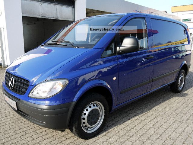 mercedes benz vito 111 cdi compact dpf air dual seat 2008 box type delivery van photo and specs. Black Bedroom Furniture Sets. Home Design Ideas