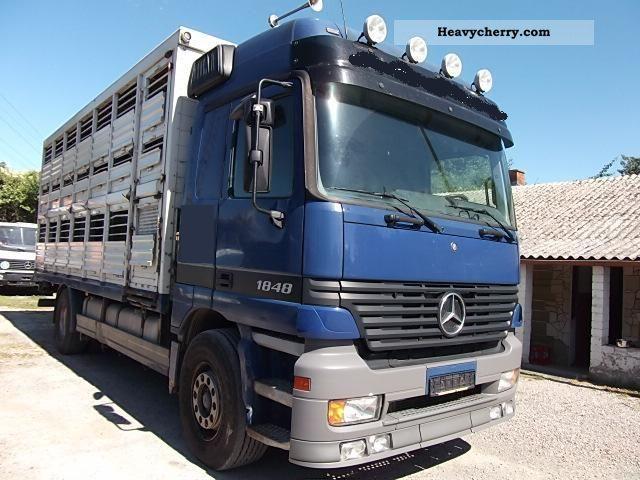 2000 Mercedes Benz 1848 Double Decker Cattle Trucks Truck Over 7 5t Horses Photo