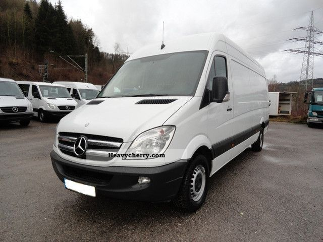 mercedes benz sprinter 316 cdi maxi climate 2009 box type delivery van high and long photo and. Black Bedroom Furniture Sets. Home Design Ideas