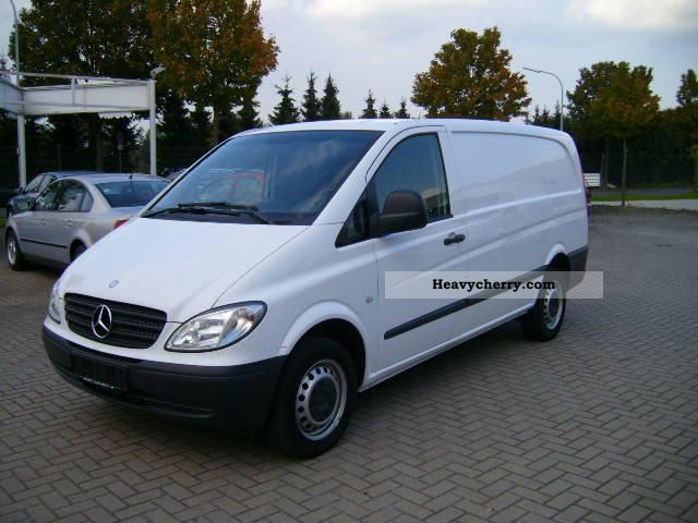 mercedes benz vito 109 cdi long 2009 box type delivery van long photo and specs. Black Bedroom Furniture Sets. Home Design Ideas