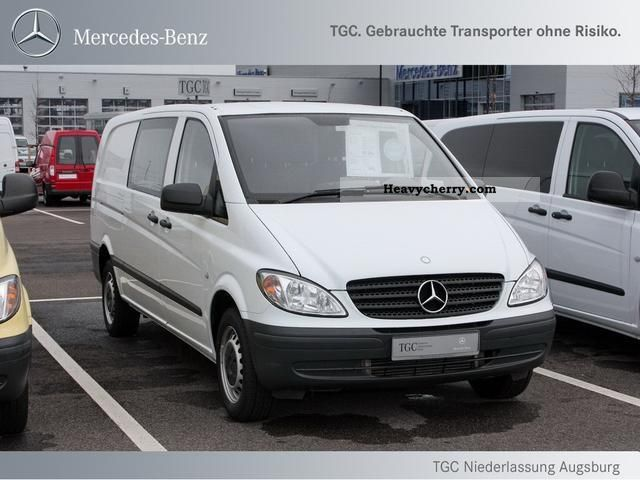 mercedes benz mixto vito 111 cdi extra long 6 seater truck perm 2010 box type delivery van. Black Bedroom Furniture Sets. Home Design Ideas