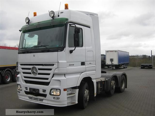 Mercedes benz actros 2546 ls ii megaspace 2007 standard for Mercedes benz semi trucks