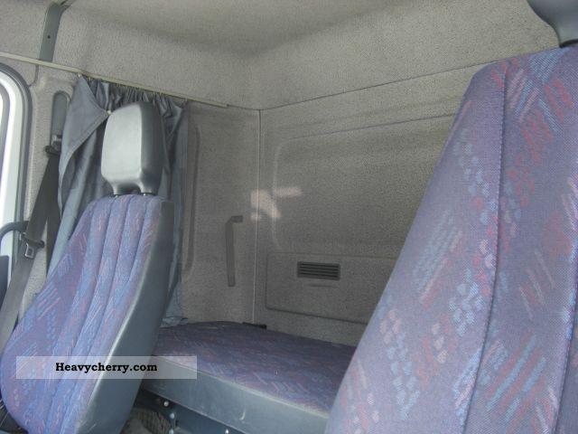 Mercedes Benz Atego 818 Sleeper Manual 2001 Box Truck