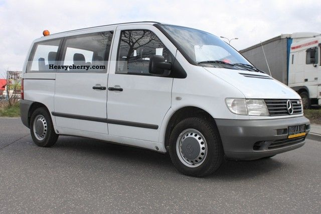 mercedes benz vito 112 110 cdi combi 9 seat 2003 2003. Black Bedroom Furniture Sets. Home Design Ideas