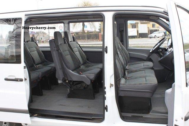 mercedes-benz vito 112/110 cdi combi 9-seat 2003 2003 estate