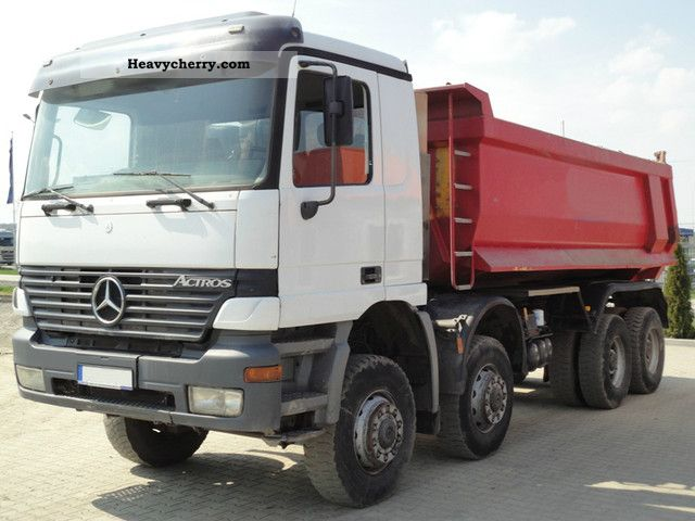 1999 Mercedes-Benz  4143 8x8 tipper Truck over 7.5t Tipper photo