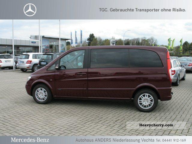 Mercedes benz viano 3 0 cdi compact 2 5 to ahk 6 seats for Mercedes benz small trucks