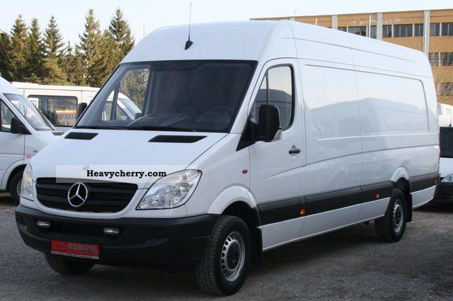 Mercedes benz sprinter 315 cdi maxi extra long xxl air for Mercedes benz sprinter specs