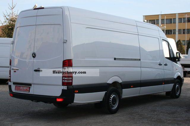 mercedes-benz sprinter 315 cdi maxi extra long-xxl, air 2009 box