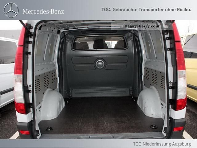 mercedes benz mixto vito 111 cdi extra long 6 seater truck. Black Bedroom Furniture Sets. Home Design Ideas