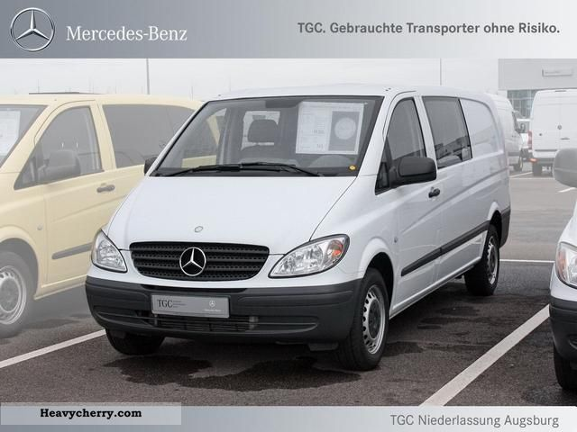 mercedes benz mixto vito 111 cdi extra long 6 seater truck perm 2010 estate minibus up to 9. Black Bedroom Furniture Sets. Home Design Ideas