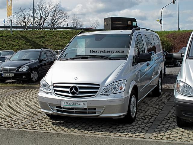 mercedes benz vito 122 cdi 5 seats xenon air navigation standh ahk 2011 estate minibus up to 9. Black Bedroom Furniture Sets. Home Design Ideas
