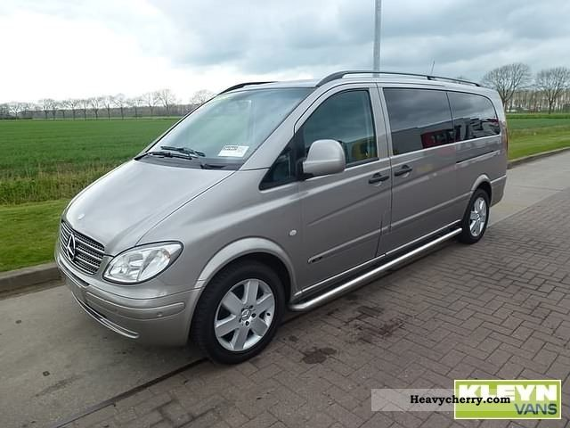mercedes benz vito 111 cdi estate 2008 estate minibus up to 9 seats truck photo and specs. Black Bedroom Furniture Sets. Home Design Ideas