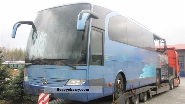 2001 Mercedes-Benz  Travego 15 RHD Coach Cross country bus photo
