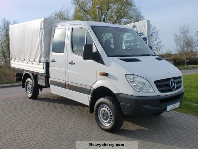 Mercedes benz sprinter 311 cdi 4x4 doka wheel heater 2008 for 2008 mercedes benz truck