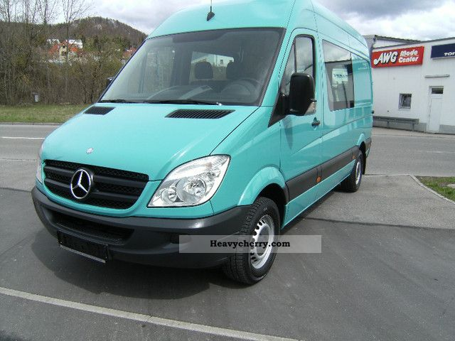 Mercedes benz sprinter 215hoch long mixto 6 seater top for Mercedes benz seven seater