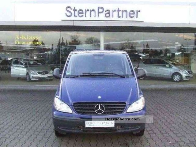 mercedes benz vito 115 cdi mixto long five seater 2009 box type delivery van photo and specs. Black Bedroom Furniture Sets. Home Design Ideas