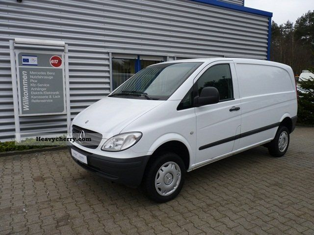 mercedes benz vito 115 cdi 4x4 automatic climate ahk k 2007 box type delivery van high. Black Bedroom Furniture Sets. Home Design Ideas