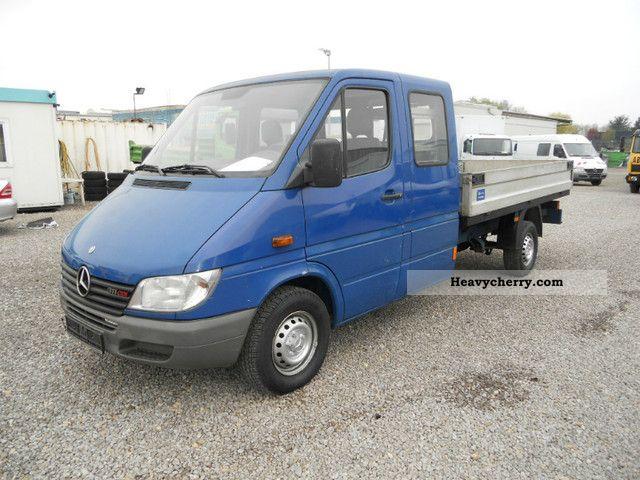 mercedes benz 311 cdi sprinter 2001 stake body truck. Black Bedroom Furniture Sets. Home Design Ideas