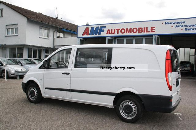 mercedes benz vito 109 cdi mixto 6 seater truck permitting dpf 2008 estate minibus up to 9. Black Bedroom Furniture Sets. Home Design Ideas