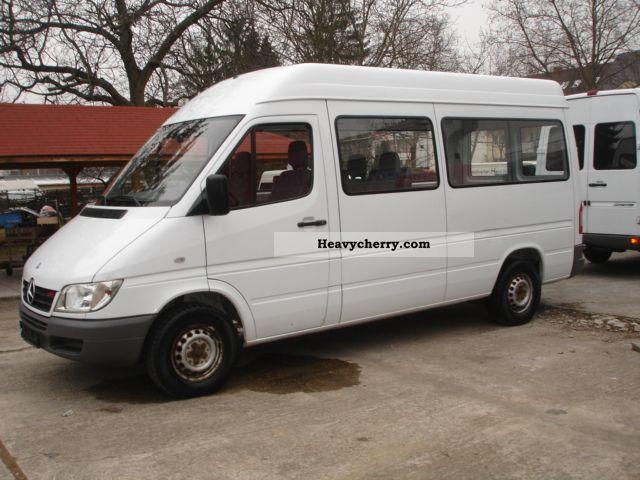 mercedes benz sprinter 213 cdi long truck high acceptance. Black Bedroom Furniture Sets. Home Design Ideas