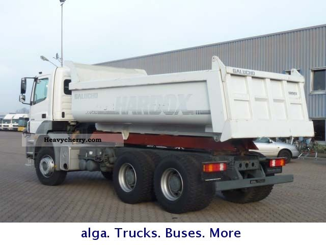 Mercedes benz 2640 axor dump truck 15m 2011 tipper truck for Mercedes benz dump truck