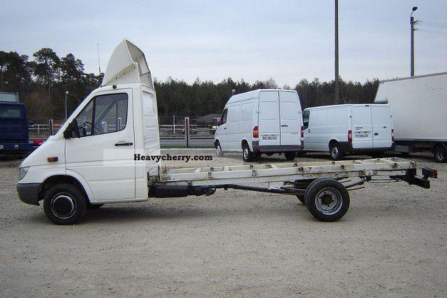 Mercedes benz sprinter 413 cdi maxi rama bli niaki 2004 for Mercedes benz sprinter specs