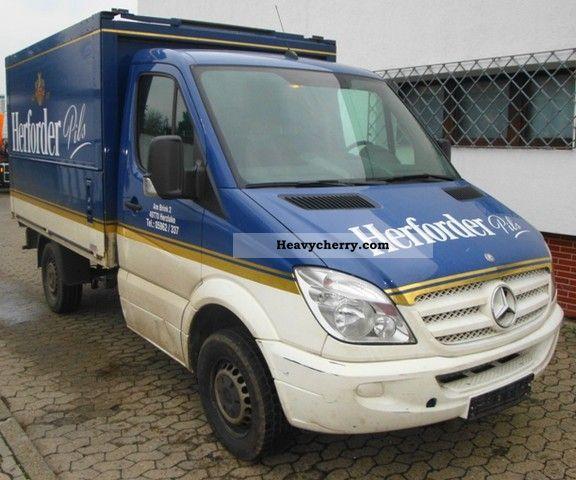 Mercedes benz sprinter 311 beverages trunk 2006 box truck for 2006 mercedes benz sprinter specs