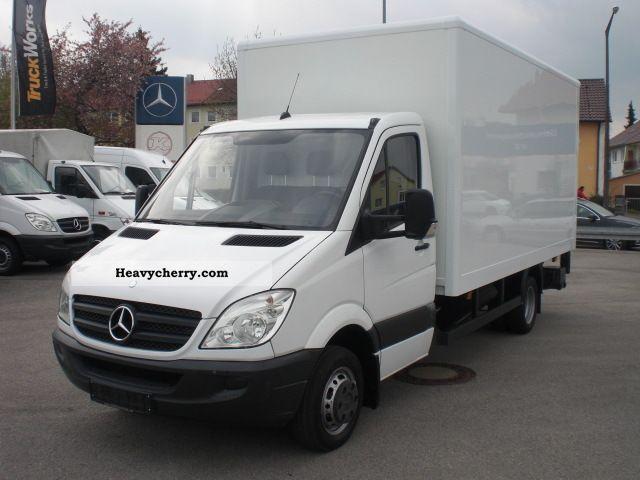 Mercedes benz sprinter 515 cdi closed maxi lbw 2009 box for Mercedes benz sprinter 515 cdi specifications