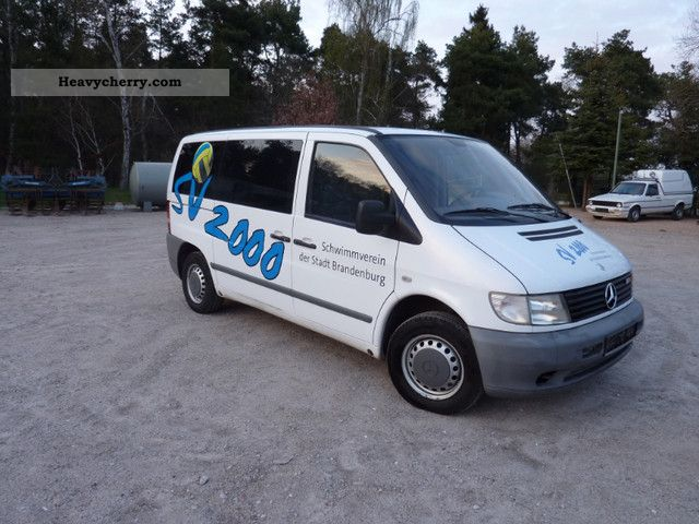 2002 Mercedes-Benz  Vtto 110 CDI Van or truck up to 7.5t Estate - minibus up to 9 seats photo