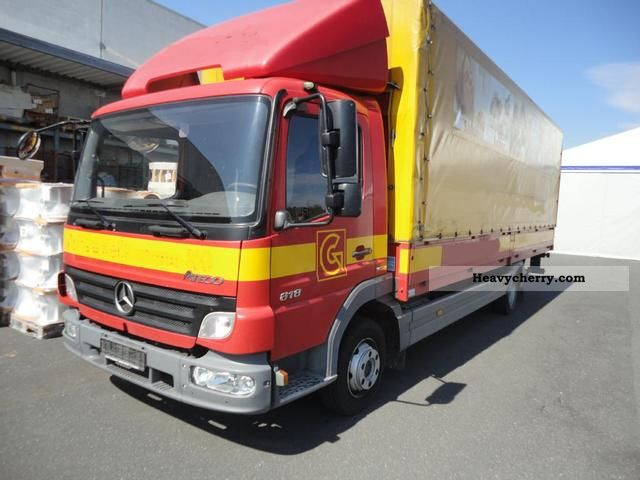 Mercedes Benz Maker With Pictures Page 99 Atego 816 Koffer