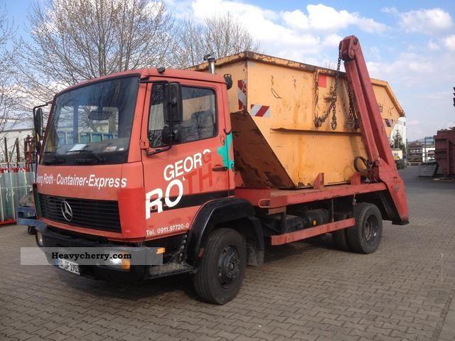 1992 Mercedes-Benz  814 loader in good condition Van or truck up to 7.5t Dumper truck photo