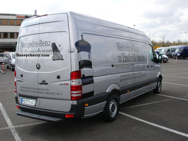 mercedes benz 316 cdi sprinter high 2012 box type delivery van photo and specs. Black Bedroom Furniture Sets. Home Design Ideas