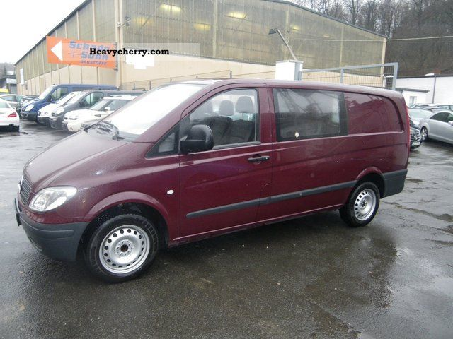 mercedes benz vito 111 cdi mixto 2005 estate minibus up to 9 seats truck photo and specs. Black Bedroom Furniture Sets. Home Design Ideas