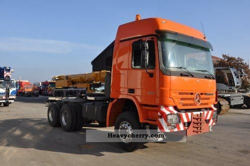 Mercedes benz as 4054 6x6 slt 2006 heavy load semi trailer for Mercedes benz semi trucks