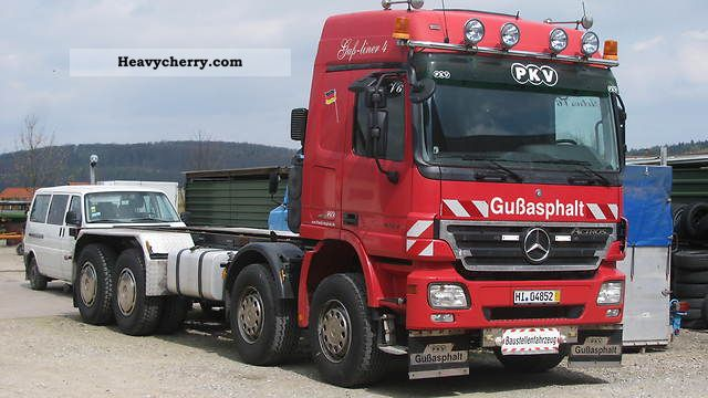 Mercedes benz 4143 8x8 tipper 1999 mercedes benz photo for Mercedes benz maker