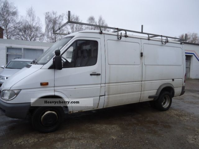 2005 Mercedes-Benz  Sprinter 413 CDI Van or truck up to 7.5t Box-type delivery van - long photo