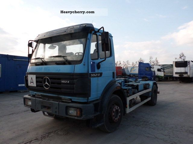 1997 Mercedes-Benz  1824 spring / * K297779 * Van or truck up to 7.5t Roll-off tipper photo