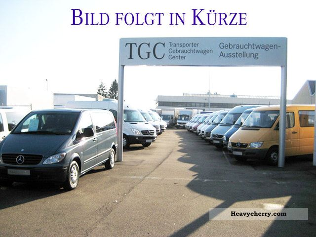 2006 Mercedes-Benz  109 CDI KA / K Vito (Parktronic Navigation) Van or truck up to 7.5t Box-type delivery van photo