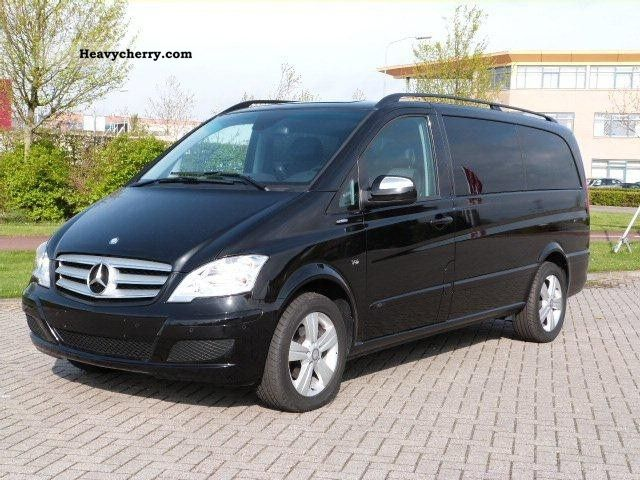 mercedes benz viano cdi 3 0 v6 7 pers trend blueefficiency n 2011 box type delivery van. Black Bedroom Furniture Sets. Home Design Ideas