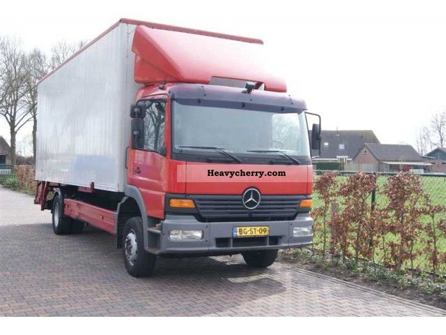 1998 Mercedes-Benz ATEGO 1223 MEUBELBAK-CASE + LBW Truck over 7.5t Box ...