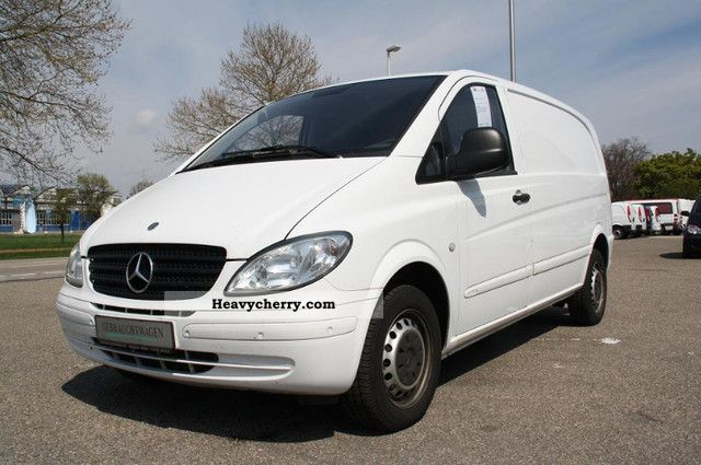 mercedes benz vito 115 cdi parktronic dpf 3 seater air 2007 box type delivery van photo and specs. Black Bedroom Furniture Sets. Home Design Ideas