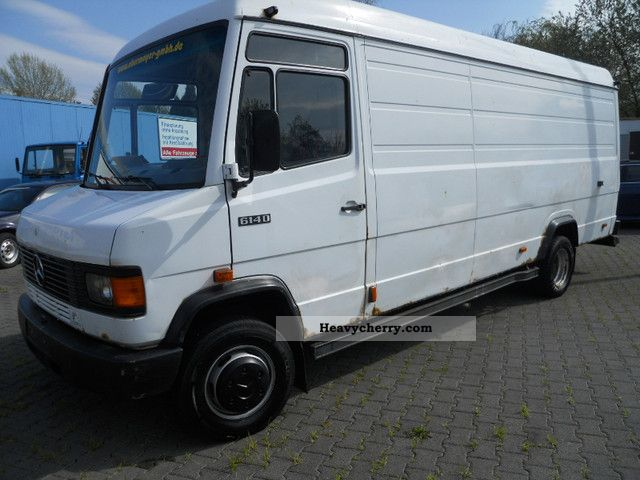 Mercedes benz 614 d vario maxi length m diff for Mercedes benz box truck