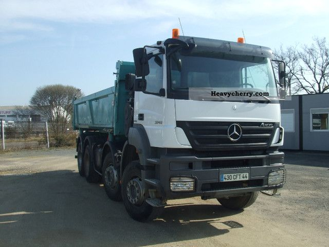 Mercedes benz axor 3240 2008 tipper truck photo and specs for 2008 mercedes benz truck
