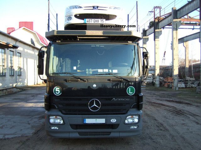 Mercedes benz actros1836 rolfo pegasus 2008 car carrier for 2008 mercedes benz truck