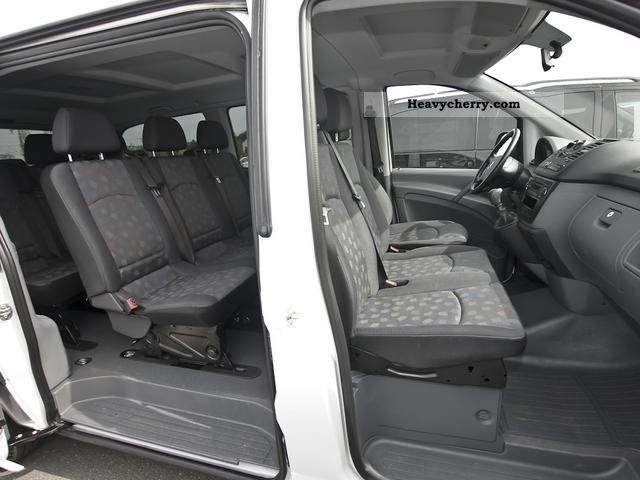 mercedes benz vito 111 cdi long 9 seater air parking. Black Bedroom Furniture Sets. Home Design Ideas