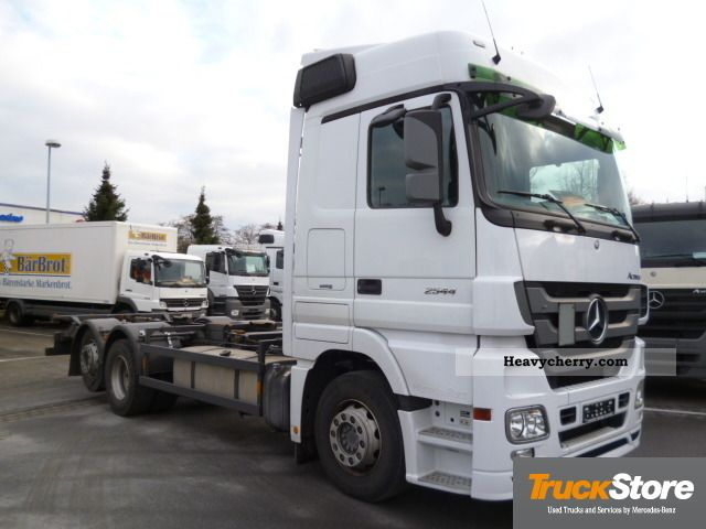 Mercedes benz euro 5 actros 2544 mp3 ll bdf air mega 2008 for 2008 mercedes benz truck