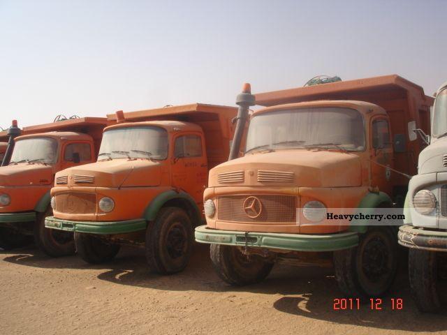 Mercedes Benz 100 Pcs 2624 6x4 1982 Tipper Truck Photo And Specs